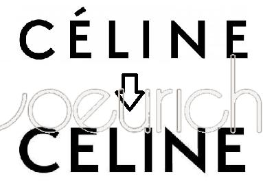 セリーヌ ロゴ 新旧